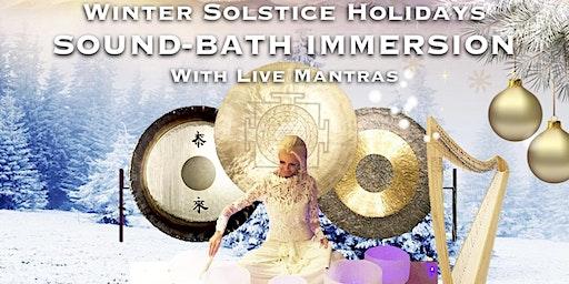 Winter Solstice Sound Bath Immersion