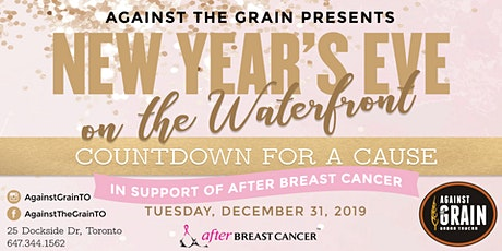 Against the Grain & After Breast Cancer Presents NYE on the Waterfront tickets