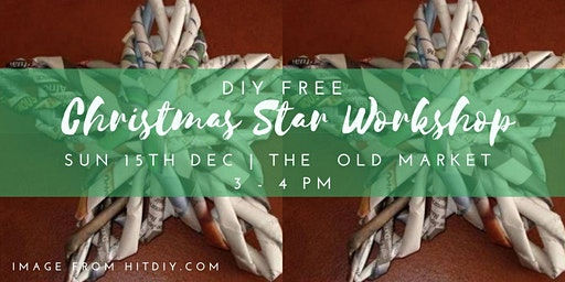 Upcycled Paper Star Decorations