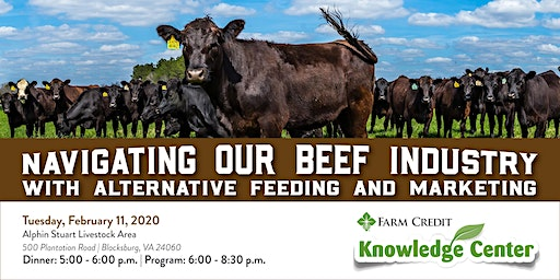 Navigating our Beef Industry with Alternative Feeding and Marketing Meeting