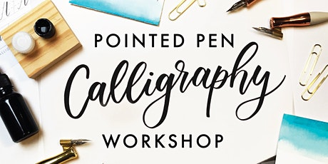 Intro to Pointed Pen Calligraphy Workshop tickets