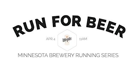 Beer Run - Utepils Brewing | 2020 Minnesota Brewery Running Series tickets