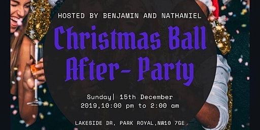 Christmas Ball Afterparty: Hosted by Benjamin & Nathaniel