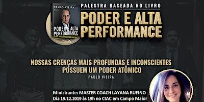 Palestra Poder e Alta Performance em Campo Maior