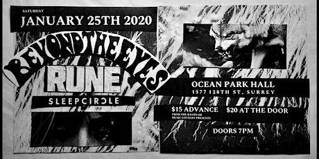 Sleepcircle   Rune   Beyond the Eyes tickets