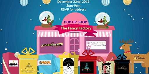 Pop-Up at the Fancy Factory