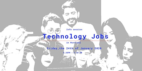 Technology Jobs in Montreal - Info Session tickets