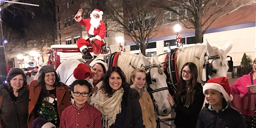 Carriage Rides with Santa 4:00 PM