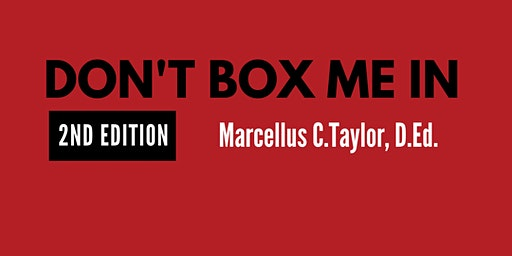 Don't Box Me In : 2nd Edition : Author Talk and Book Signing