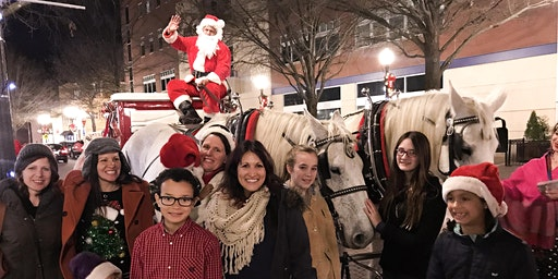 Carriage Rides with Santa 5:00 PM