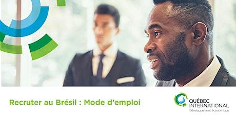 Recruter au Brésil : mode d'emploi billets