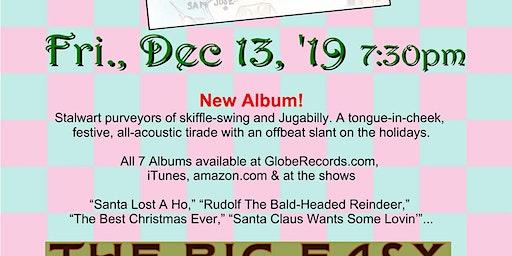 Christmas Jug Band - Big Easy Petaluma Fri Dec 13 2019