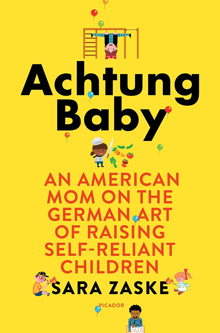 """A Conversation with Sara Zaske, Author of """"Achtung Baby"""" image"""