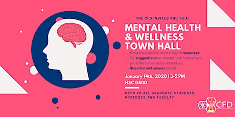Mental Health & Wellness Town Hall - Hosted by the CFD tickets