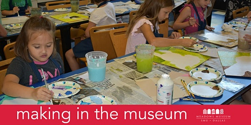 Making in the Museum: Springtime Scenes
