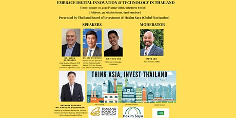 Embrace Digital Innovation and Technology in Thailand tickets