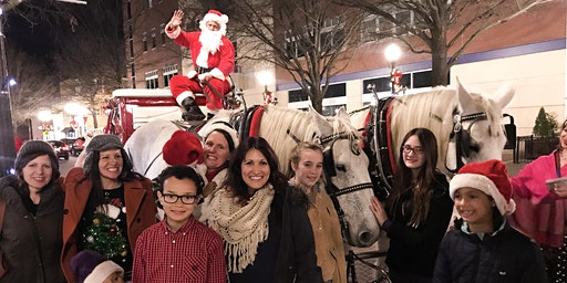 Carriage Rides with Santa 6:00 PM