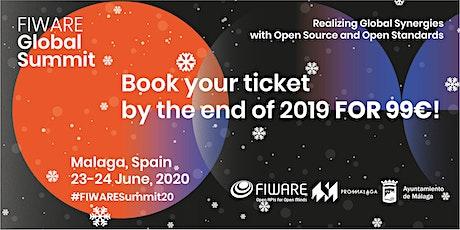 FIWARE Global Summit Málaga 2020 tickets