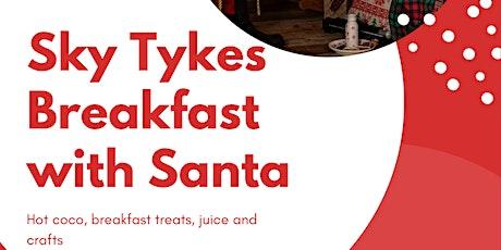Palisades Climb Presents: Sky Tykes breakfast with Santa tickets
