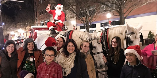 Carriage Rides with Santa 7:00 PM