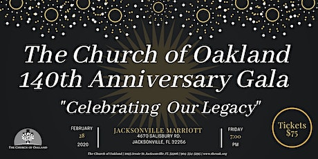 "140th Church Anniversary ""Celebrating Our Legacy"" Gala tickets"