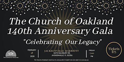 "140th Church Anniversary ""Celebrating Our Legacy"" Gala"