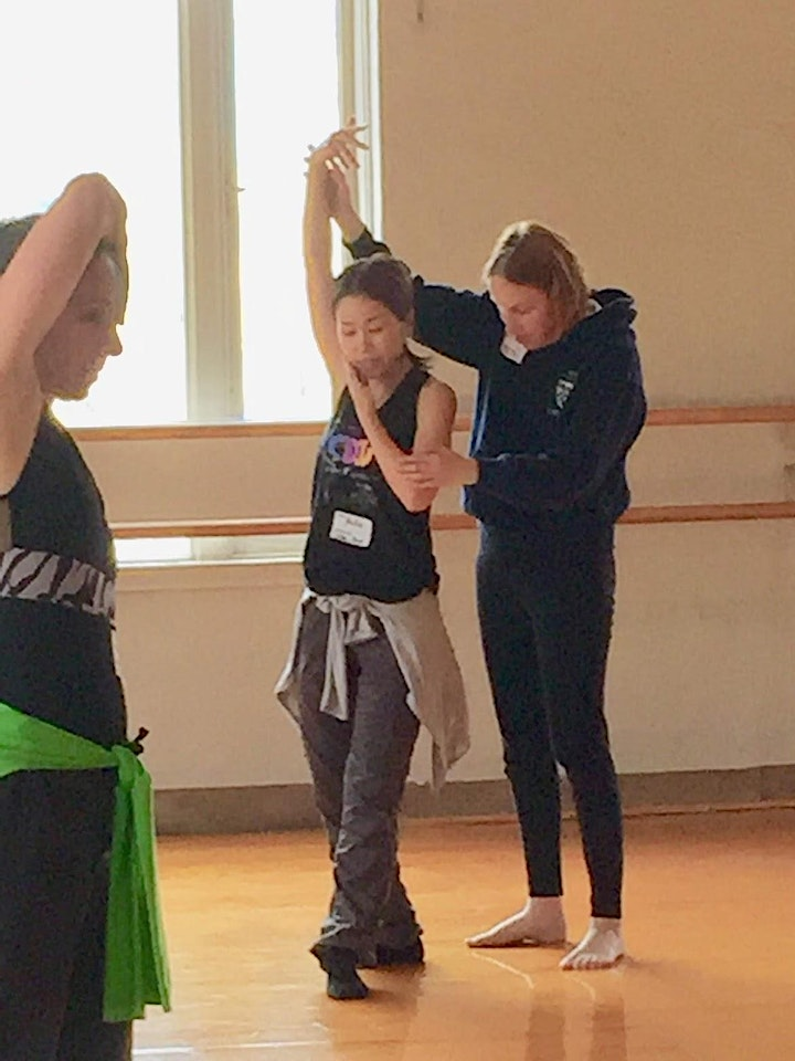 Axis Dance Company Teacher Training in Physically Integrated Dance image