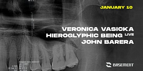 Veronica Vasicka / Hieroglyphic Being / John Barera tickets