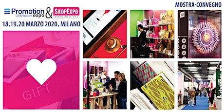 PROMOTION EXPO&SHOPEXPO 2020 biglietti