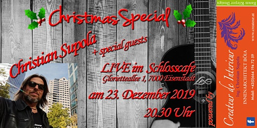 CHRISTMAS SPECIAL mit Christian Supola + special Guests