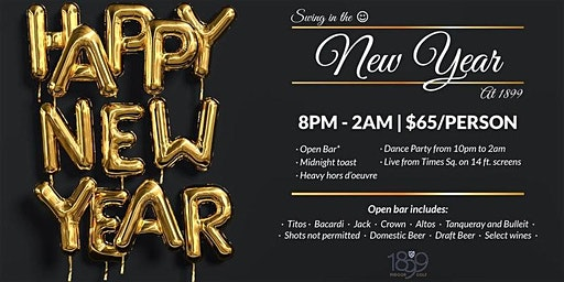 New Year's Eve at 1899 Golf CLE East