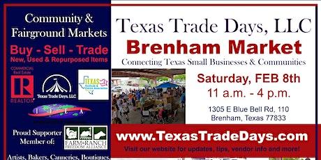 Texas Trade Days: Brenham Market tickets