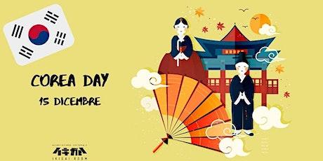Corea Day - Giornata dedicata alla cultura coreana! biglietti