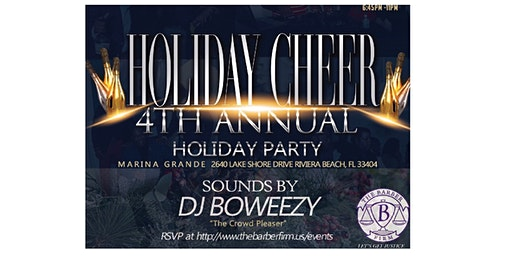 """Holiday Cheer""  The Barber Firm's Annual Holiday Party"