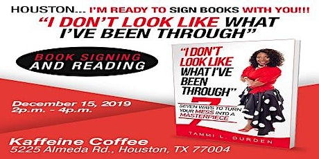 HOUSTON BOOK SIGNING tickets