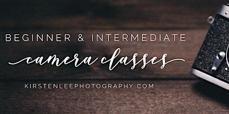 Beginner & Intermediate Camera Classes tickets