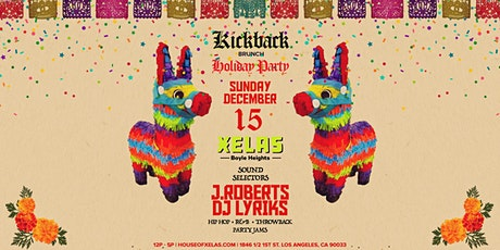 Xelas presents Kickback  Brunch feat. J.Roberts + DJ Lyriks tickets