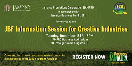 Jamaica Business Fund Information Session