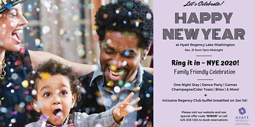 Ring it in ~ NYE 2020 Family Friendly Celebration