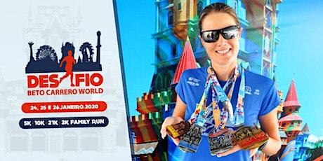 Maratona do Beto Carrero 2020 ingressos