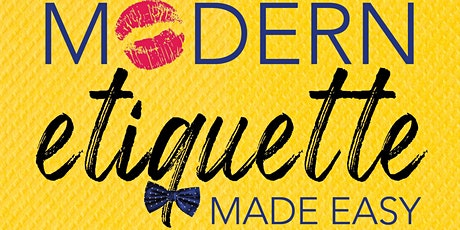 Modern Etiquette Made Easy: Free Etiquette Course @ Draper James SouthLake tickets