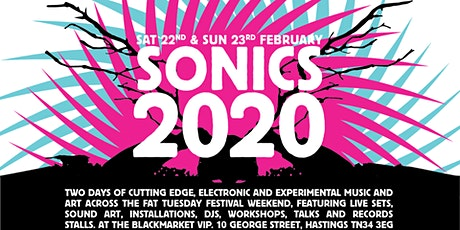 Sonics 2020 - Weekend Saver Ticket (22-23 Feb) tickets
