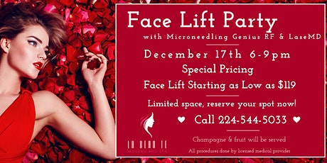 Face Lift Party with Microneedling & Genius LaseMD tickets