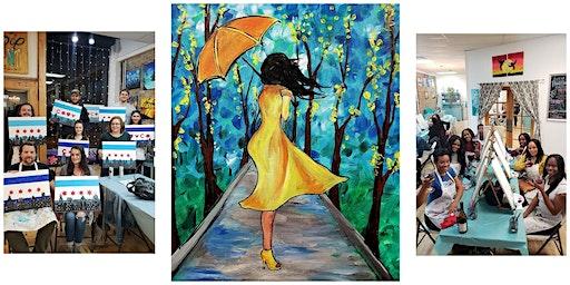 "Copy of BYOB Sip & Paint Event - ""Rainy Day"""