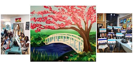 "BYOB Sip & Paint Event - ""Cherry Blossom"""