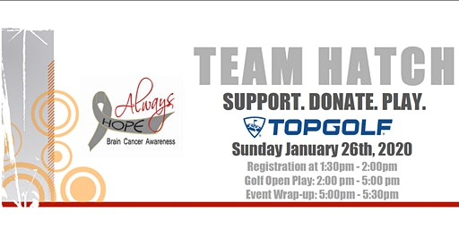 #TeamHatch Fundraiser at TopGolf
