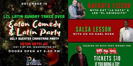 LCL Latin Sunday Takes Over Eaton Comedy & Latin Party tickets