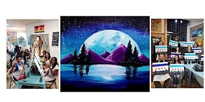 """BYOB Sip & Paint Event - """"Moonlight"""""""