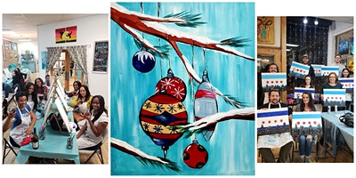 """BYOB Sip & Paint Event - """"Holiday Ornaments"""""""