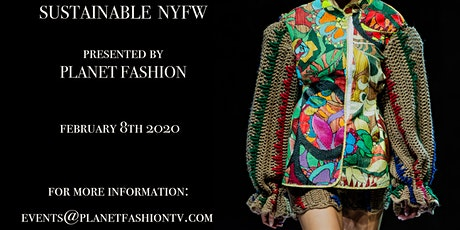 Sustainable New York Fashion Week tickets